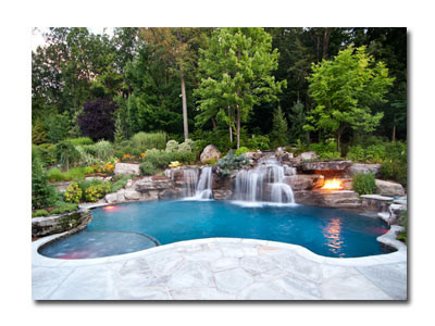 8. Landscape for Swimming Pool